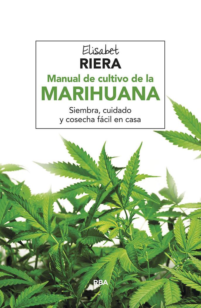 Manual de cultivo de la marihuana