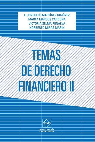 Temas de derecho financiero ii