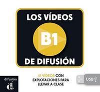 Videos de difusion b1 llave usb,los