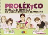 Prolexyco 1 cuaderno geu
