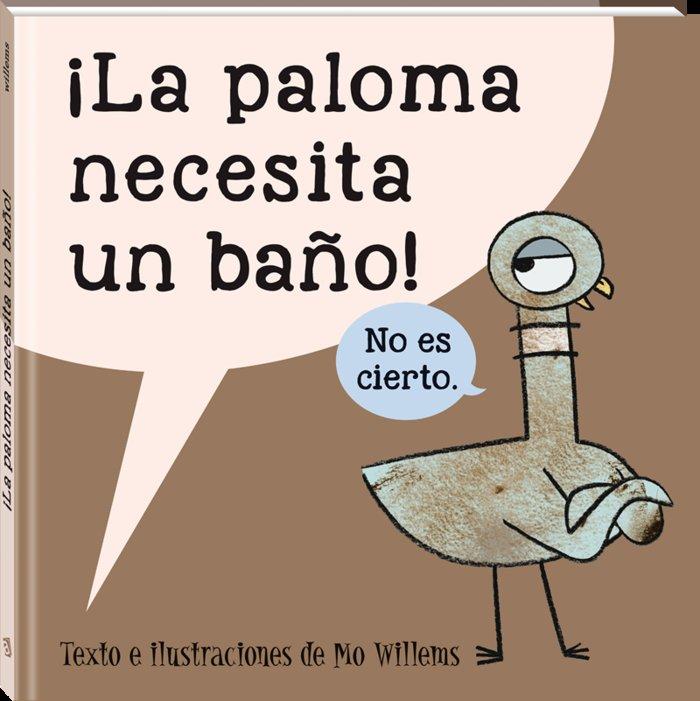 Paloma necesita un baño,la