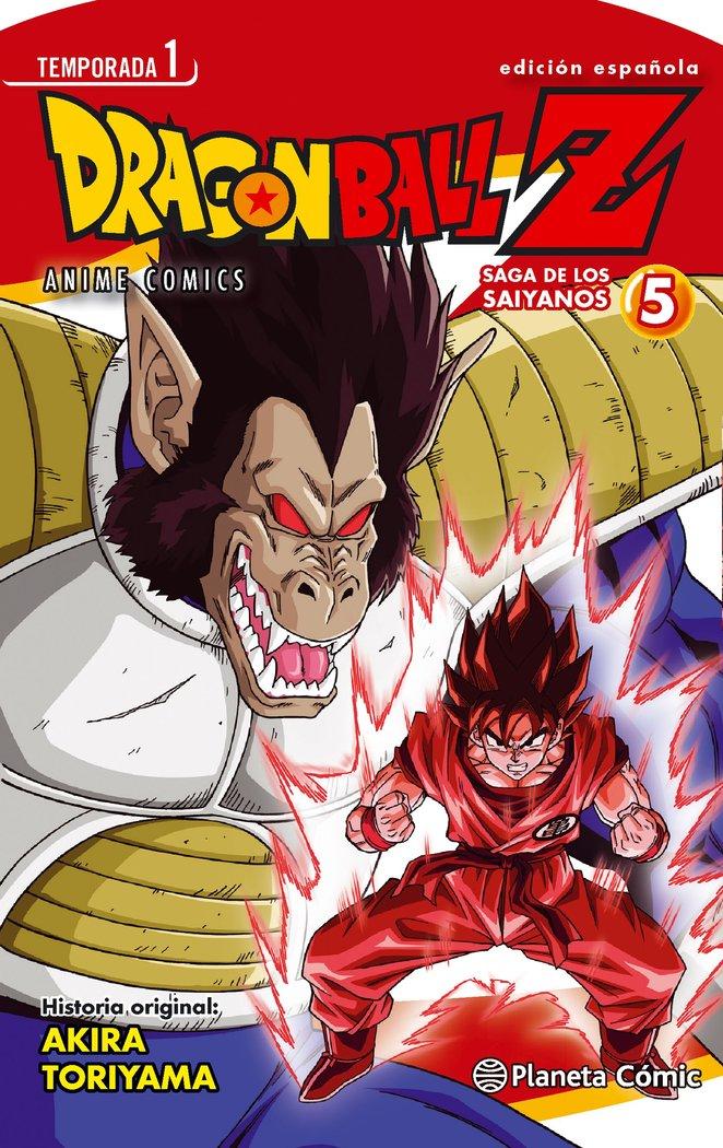 Dragon ball z anime series saiyan 5