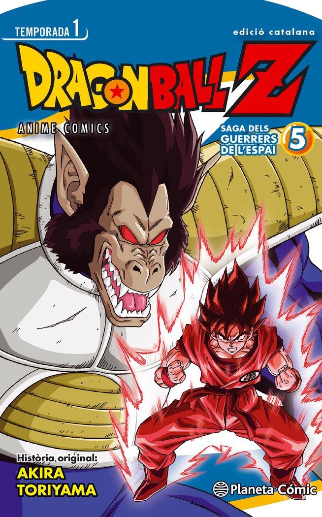 Bola de drac z anime series el guerrers de l'espai nº 05/05
