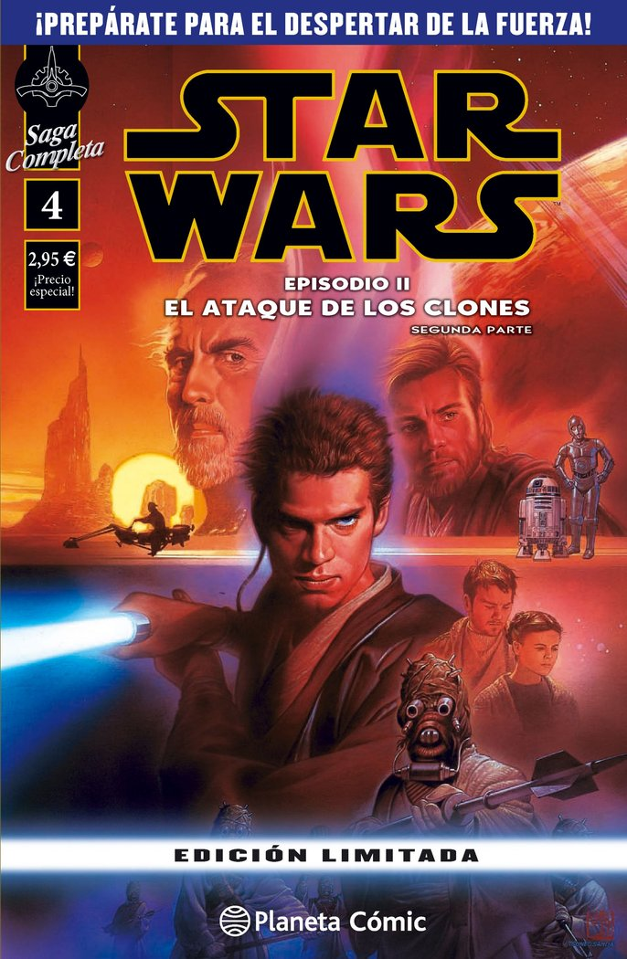 Star wars episodio ii (segunda parte)