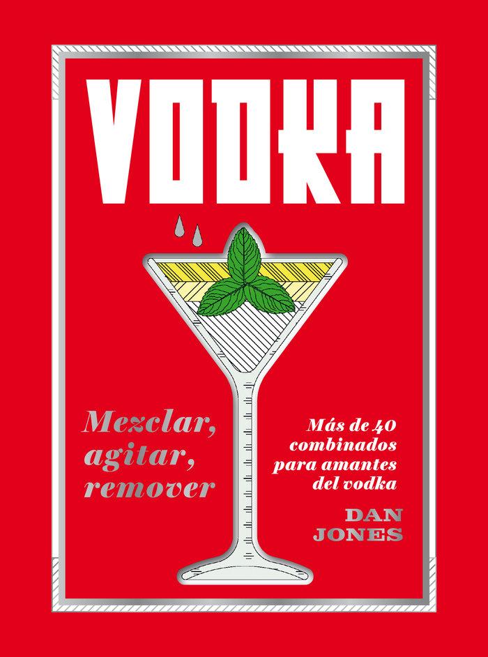 Vodka mezclar agitar remover