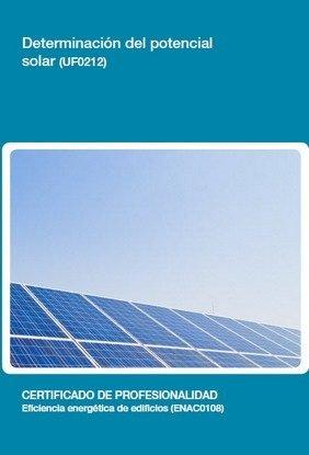 Determinacion del potencial solar (uf0212)