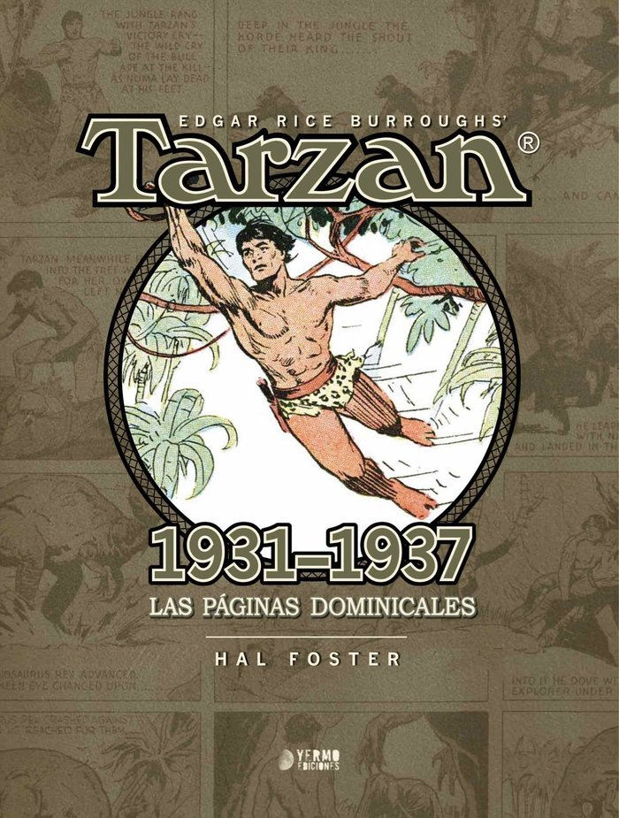 Tarzan 1931 1937 las paginas dominicales