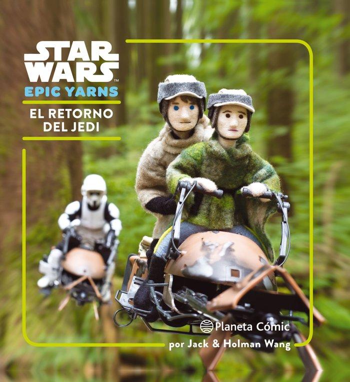 Star wars epic yarns 3 el retorno del jedi