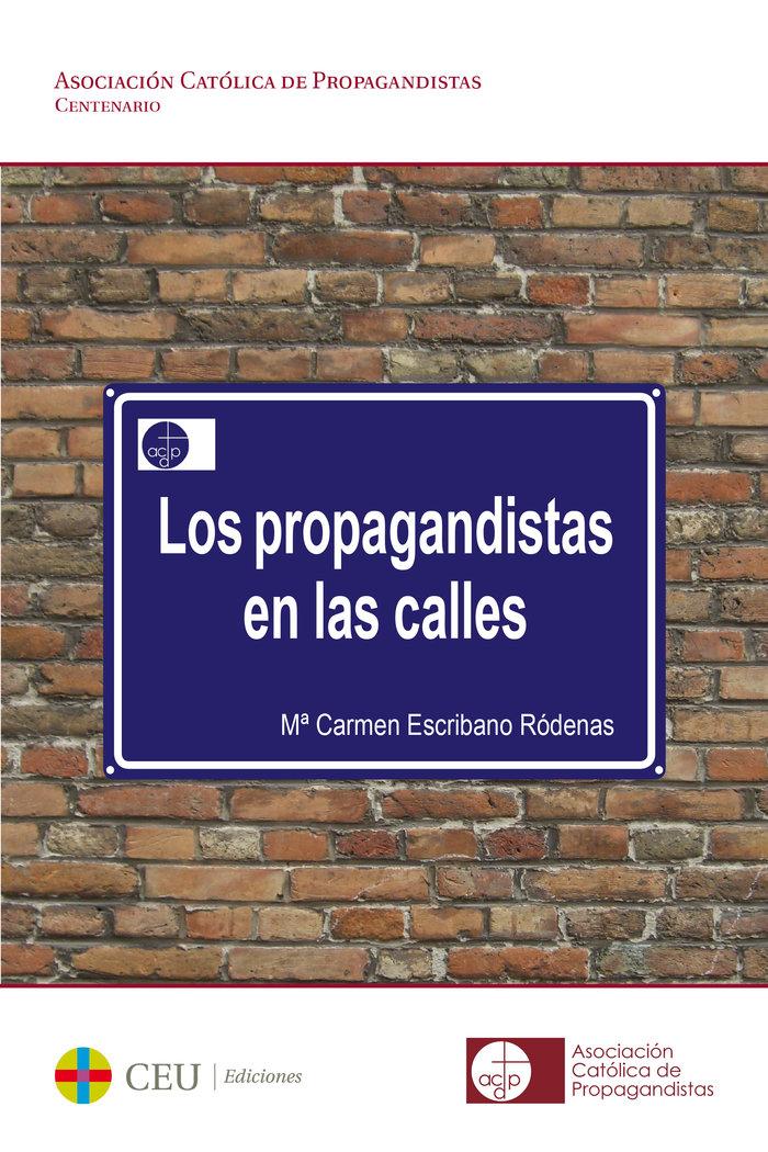 Propagandistas en las calles,los