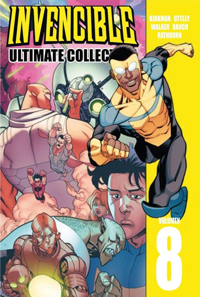 Invencible ultimate collection vol 08
