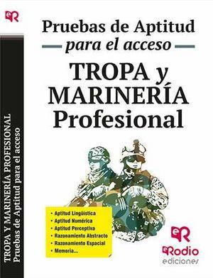Tropa y marineria profesional pruebas de aptitud para acces