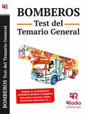 Bomberos test del temario general