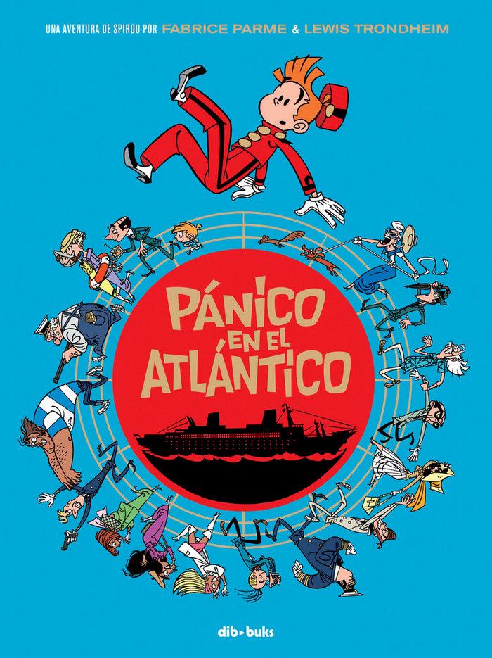 Spirou panico en el atlantico