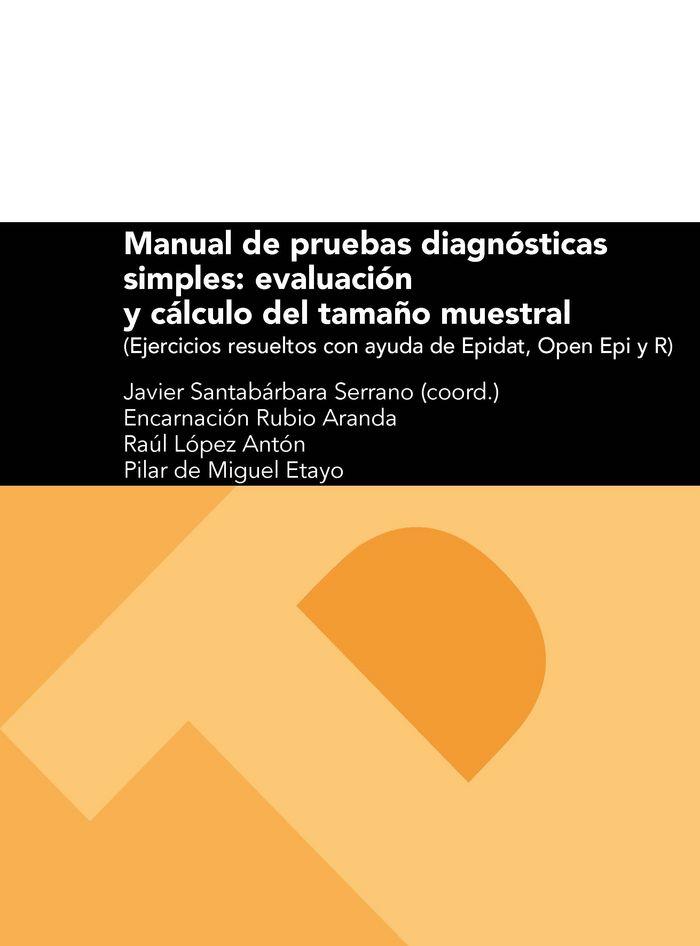Manual de pruebas diagnosticas simples: evaluacion y calculo