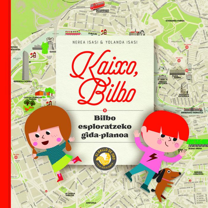 Kaixo bilbo bilbo esploratzeko gida-planoa - eusk