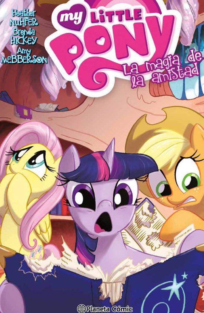 My little pony 4 la magia de la amistad