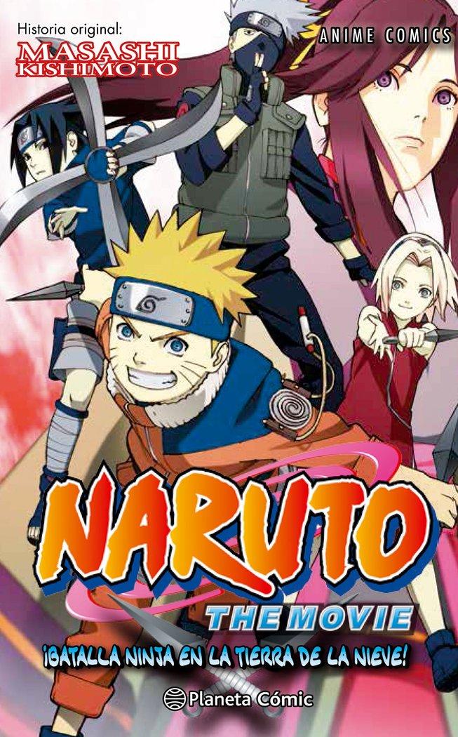 Naruto anime comic 2 batalla ninja en la tierra de la nieve