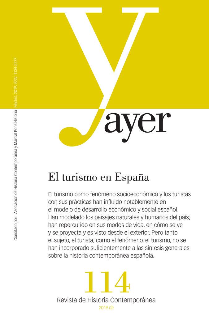 Revista ayer 114 el turismo en españa