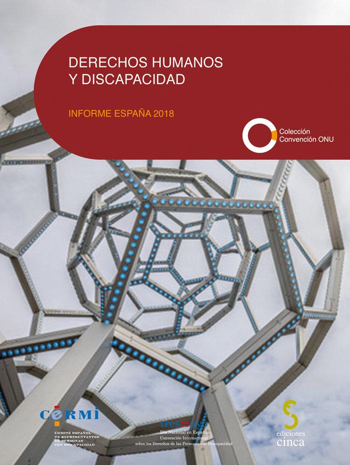 Derechos humanos y discapacidad informe españa 2018