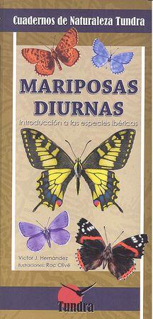 Cuadernos naturaleza 17 mariposas diurnas
