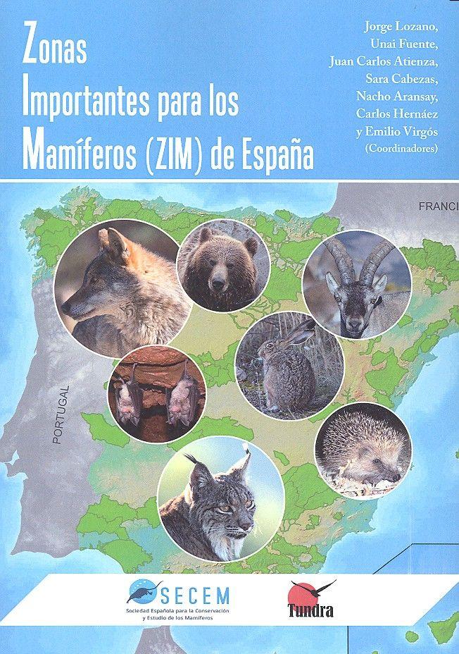 Zonas importantes para los mamiferos zim de españa