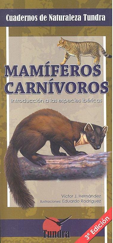 Cuadernos naturaleza 3 mamiferos carnivoros