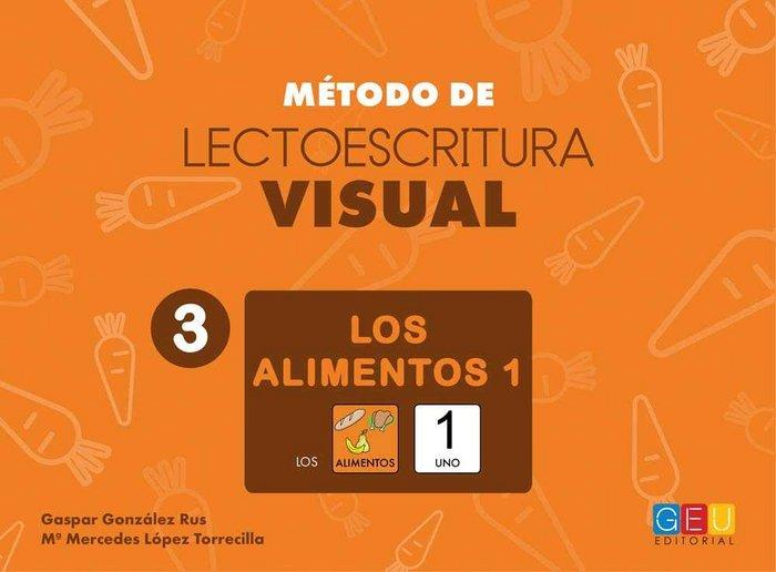 Metodo lectoescritura visual 3 los alimentos 1