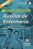 Auxiliar de enfermeria del sescam. temario especifico y test