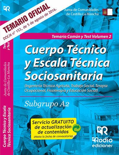 Subgrupo a2 temario comun y test. volumen 2. junta de comu