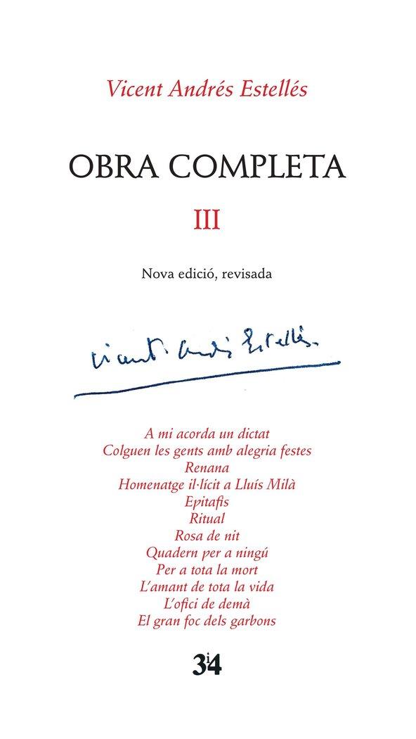 Edicio critica, vicent andres estelles, volum 3