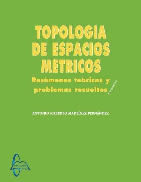 Topologia de espacios metricos