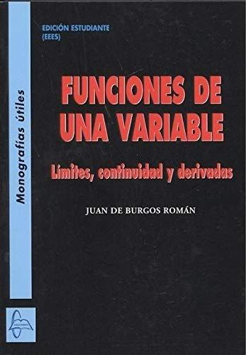 Funciones de una variable