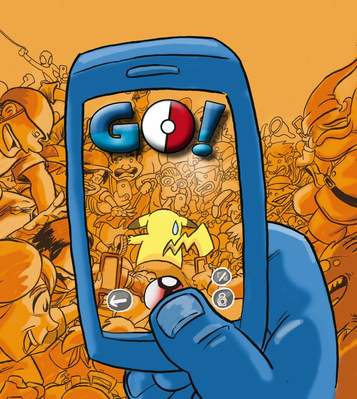 Pokemon go parodia