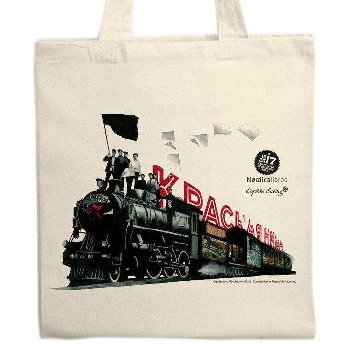 Bolsa centenario revolucion rusa (tren)