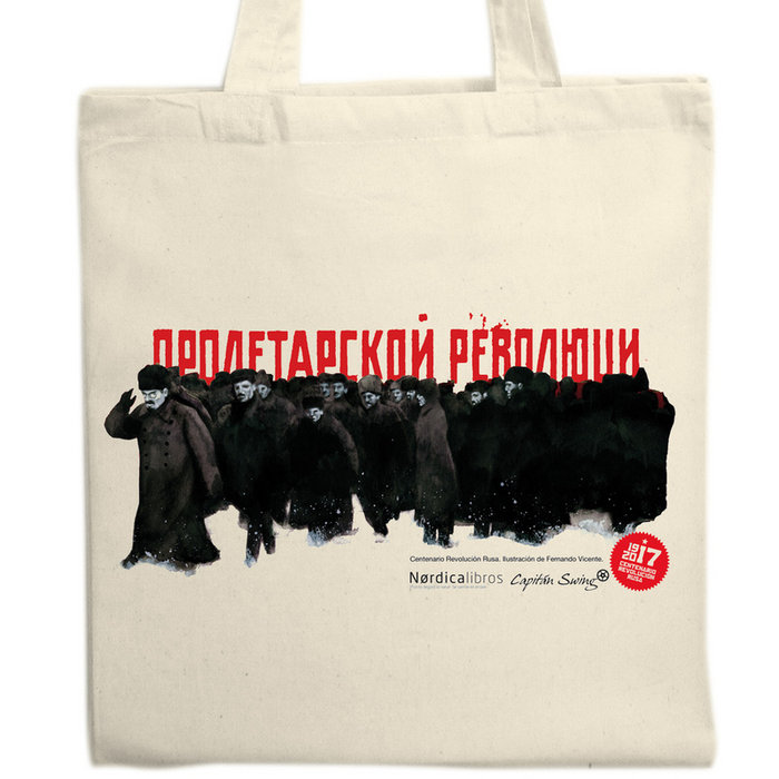 Bolsa centenario revolucion rusa (soldados)