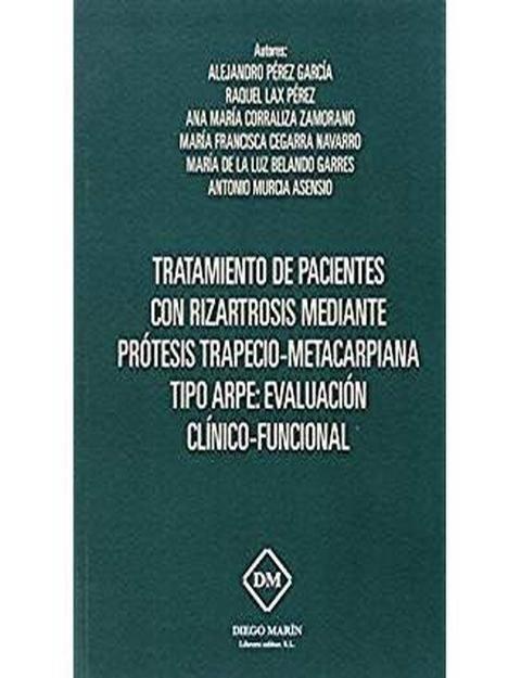 Tratamiento de pacientes con rizartrosis mediante protesis t