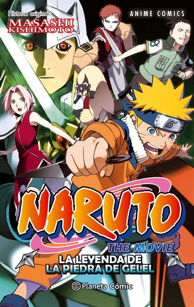 Naruto anime comic 3 la leyenda de la piedra de gelel