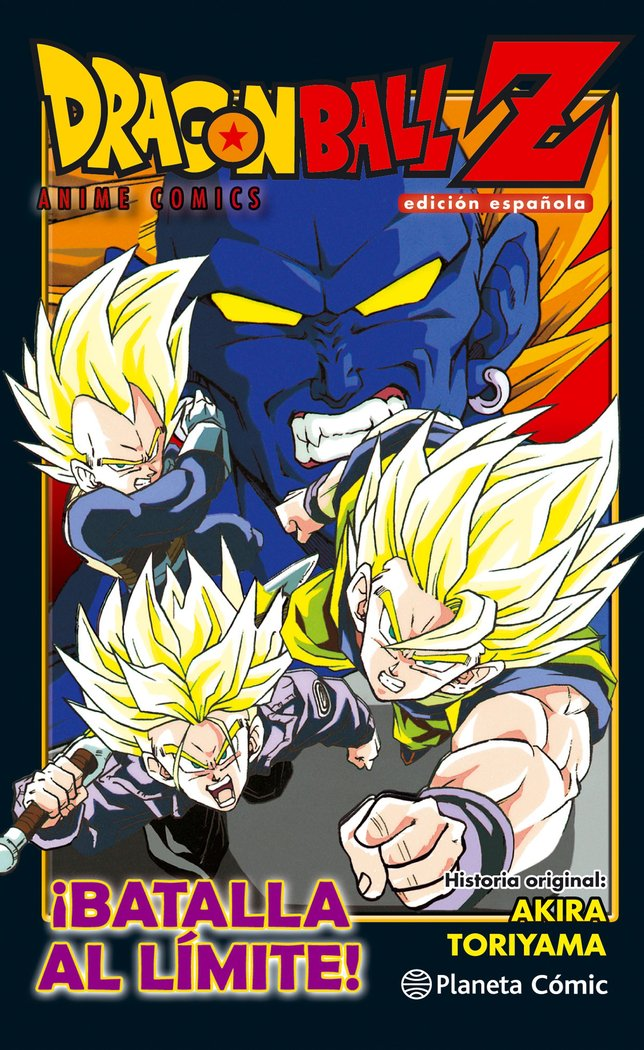 Dragon ball z anime comic batalla extrema los tres grandes