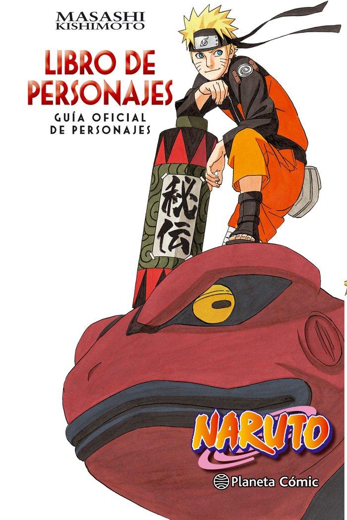 Naruto guia 3 libro de personajes