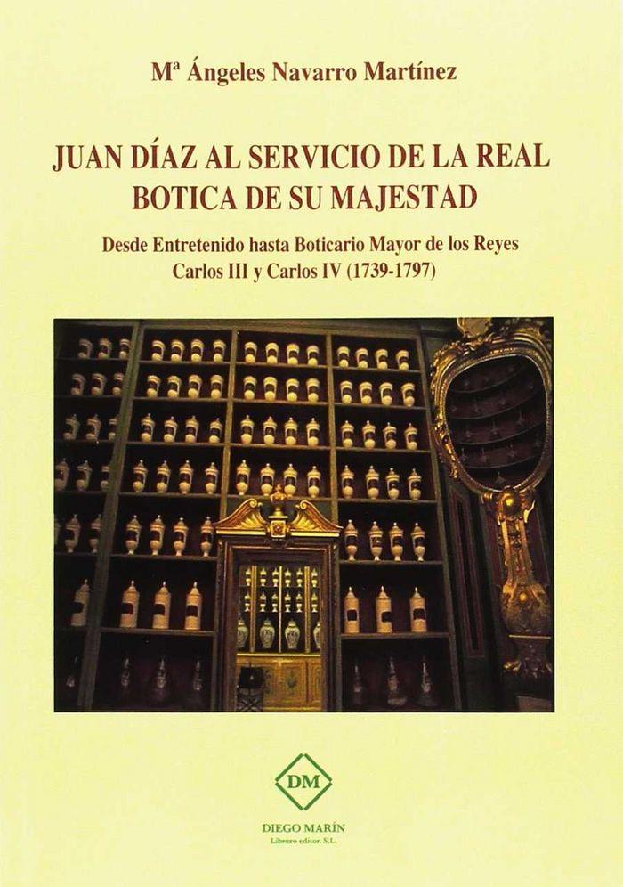 Juan diaz al servicio de la real botica de su majestad. desd