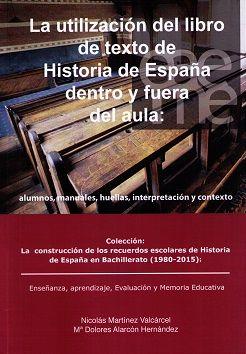 Utilizacion del libro de texto de historia de españa dentro