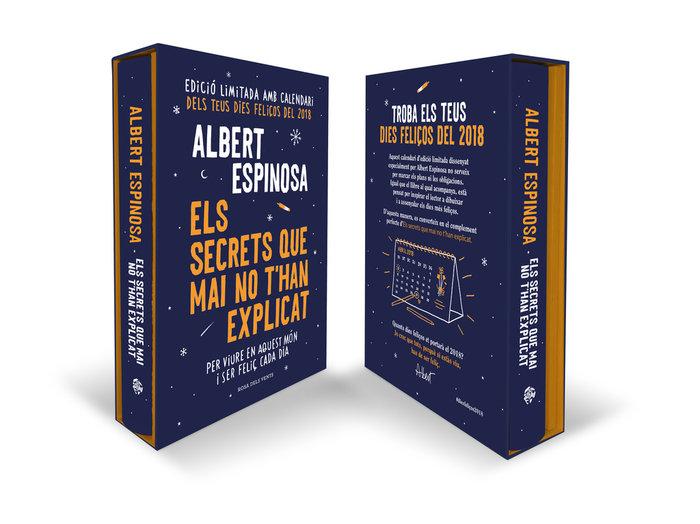 Els secrets que mai no t'han explicat (amb proleg i calendar