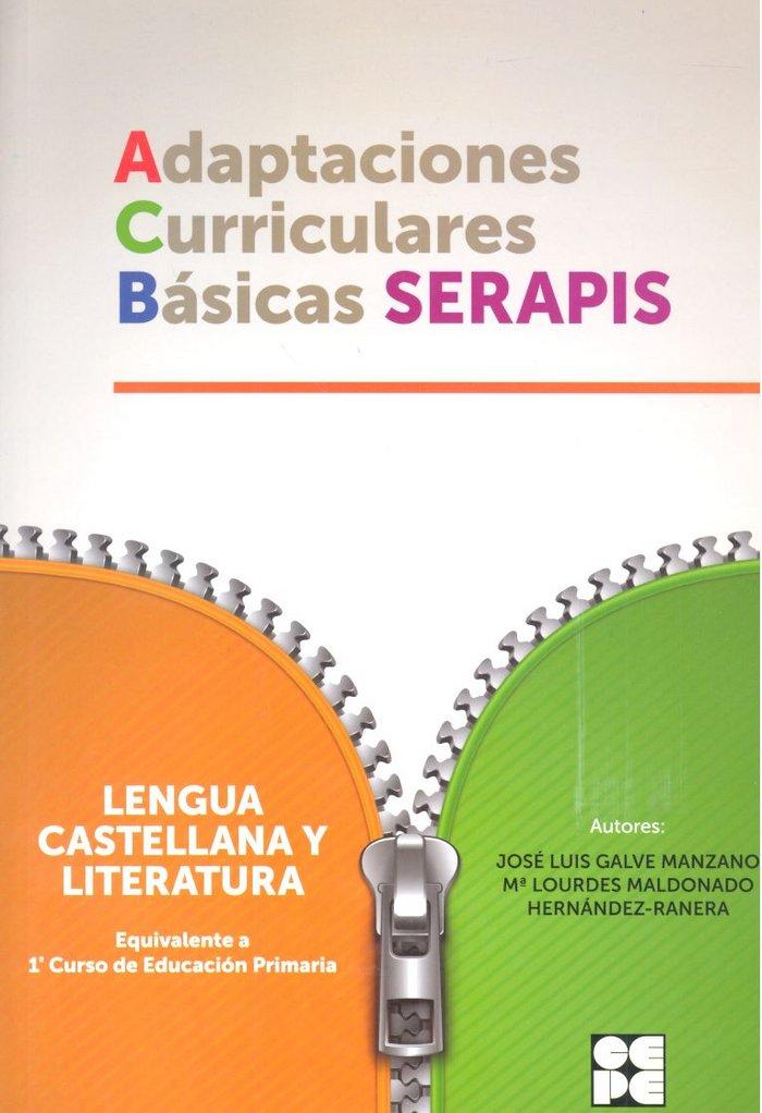 Adaptaciones curriculares basicas serapis lengua 1ºep