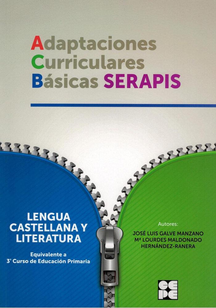 Adaptaciones curriculares basicas serapis lengua 3ºep