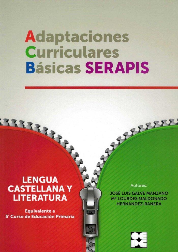Adaptaciones curriculares basicas serapis lengua 5ºep