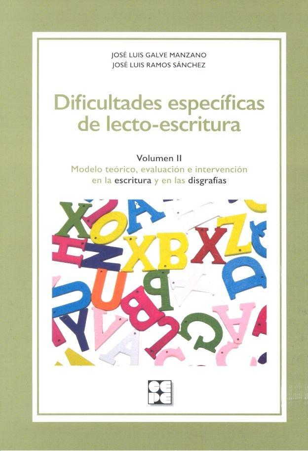 Dificultades especificas de lecto escritura volumen ii