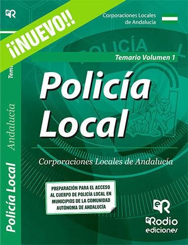 Policia local. corporaciones locales de andalucia. temario .
