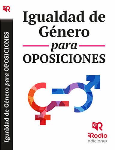 Igualdad de genero para oposiciones. temas y test