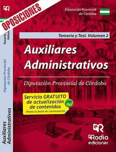 Auxiliares administrativos de la diputacion provincial de co