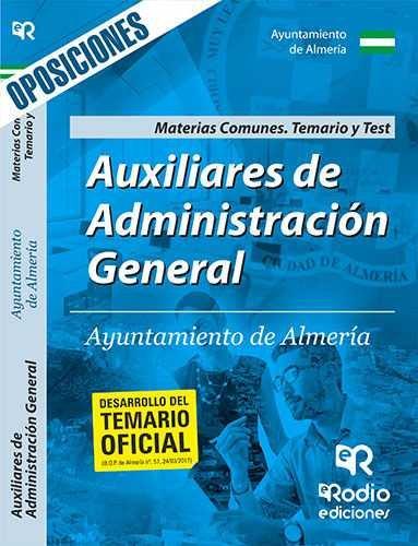 Auxiliares de administracion general del ayuntamiento de alm